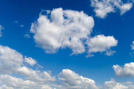 Summer blue sky background Stock Photo