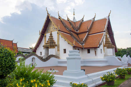 Wat Phumin is the most famous temple and quite unique in design in Nan Province, Thailand