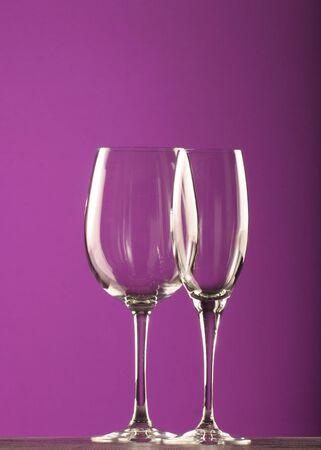 wine glasses Imagens