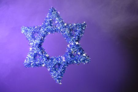 blue Star of David photo