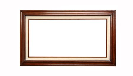 empty picture frame waiting for your art work