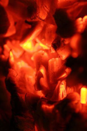ignited: look inside the glowing hot embers