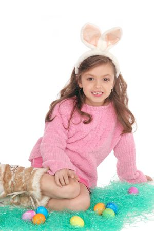 with her large ears she makes a Cute Easter Bunny