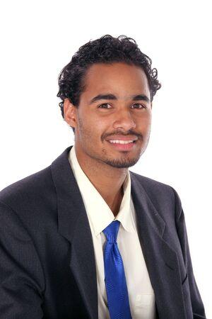 businessman in suit an tie