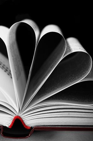 seperator: open book flower