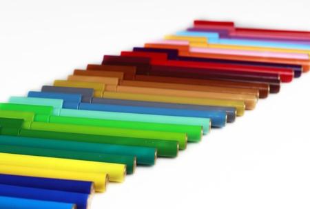Color pen Stock Photo