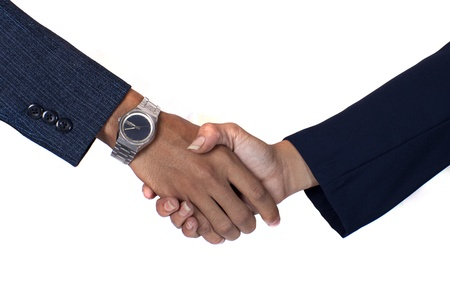 stock photos: business partnership