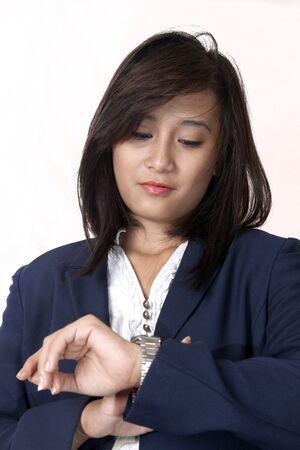 women business leadership time Stock Photo - 13114013