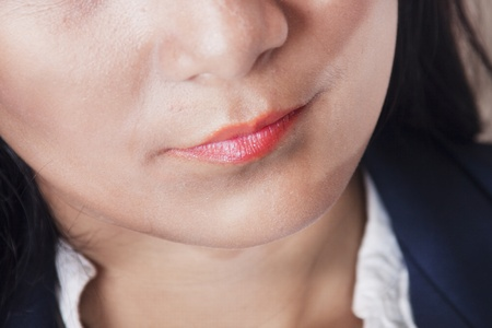 women business lips photo