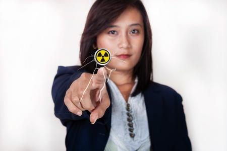 female hand business photo