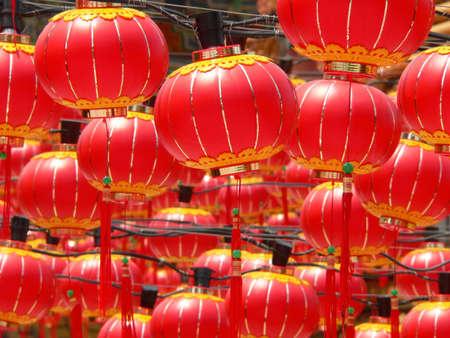 red lanterns Stock Photo - 2720008