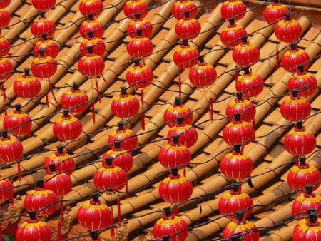 red lanterns Stock Photo - 2733031