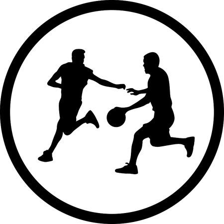 canestro basket: giocatore di basket