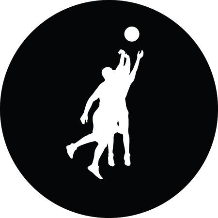 basketball player Stock Vector - 45835793
