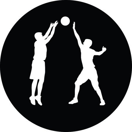 hoop: basketball player