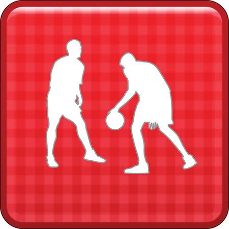 basketball player Stock Vector - 45839677
