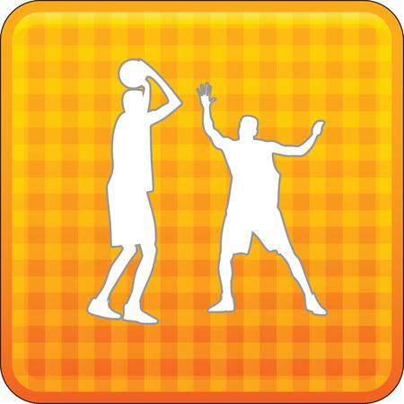 basketball player Stock Vector - 45831851