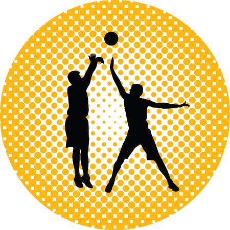 basketball player Stock Vector - 46452462