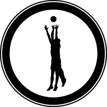 basketball player Stock Vector - 46501067