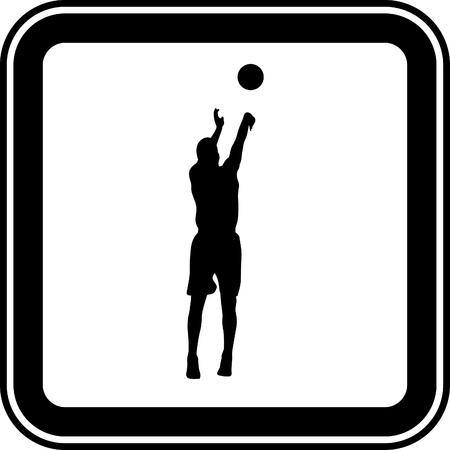 basketball player Stock Vector - 46501421