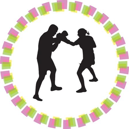 boxer: boxer woman
