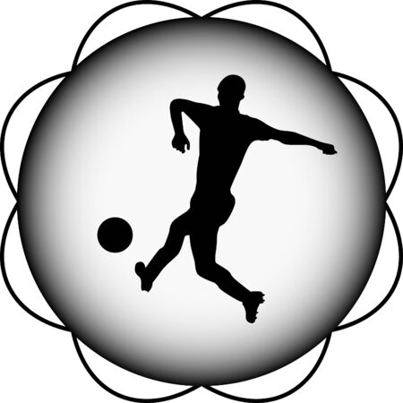 to soccer: soccer player