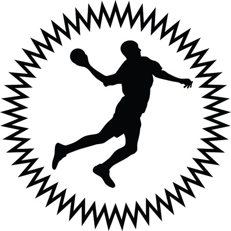 balones deportivos: balonmano  Vectores