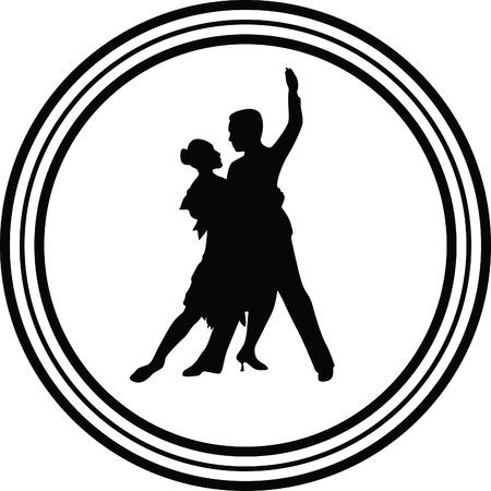 Bewegung Menschen: Tanz Menschen Illustration