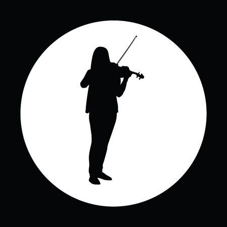 cellos: violin Illustration