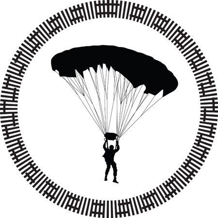 parachutist: parachutist