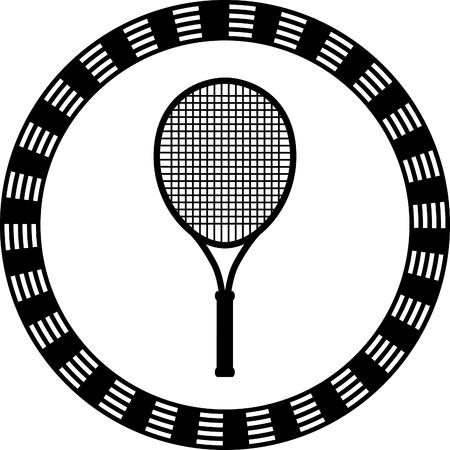 tennis racquet: tennis racquet