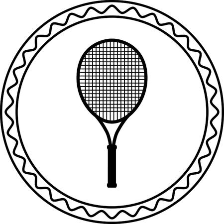 racquet: tennis racquet