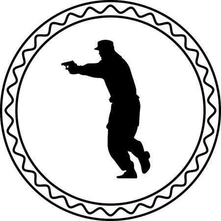 commando: policeman with a gun