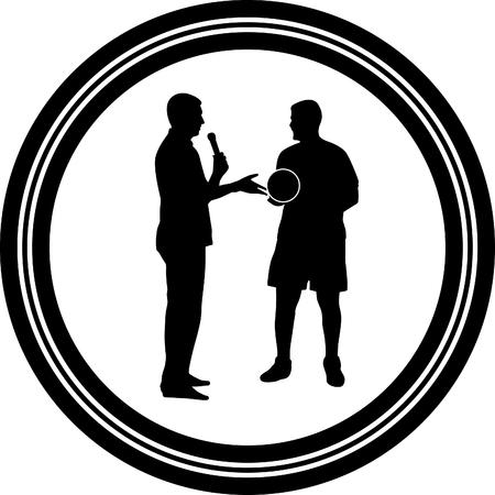 moderator: interview Illustration