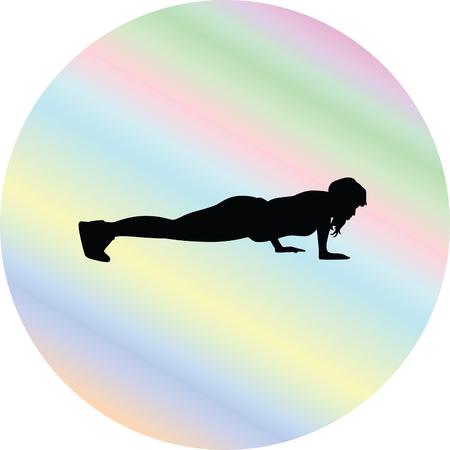 sport woman: fitness woman