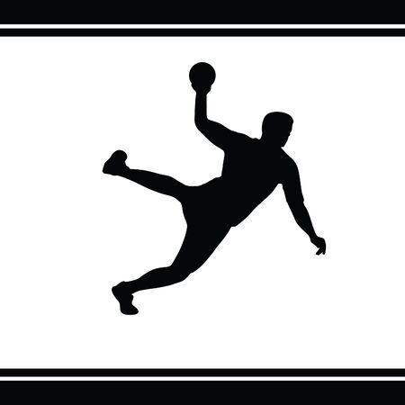 balonmano: balonmano  Vectores