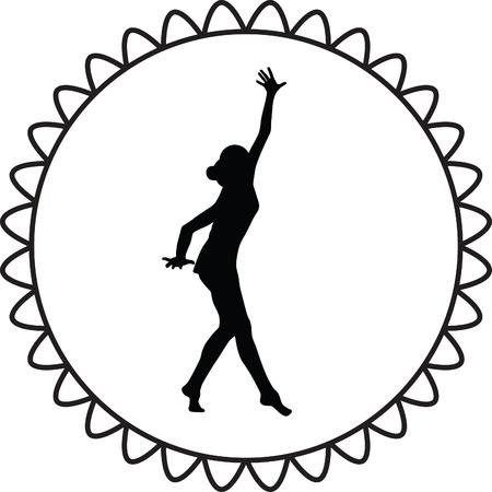 handstand: rhythmic gymnastics with ball