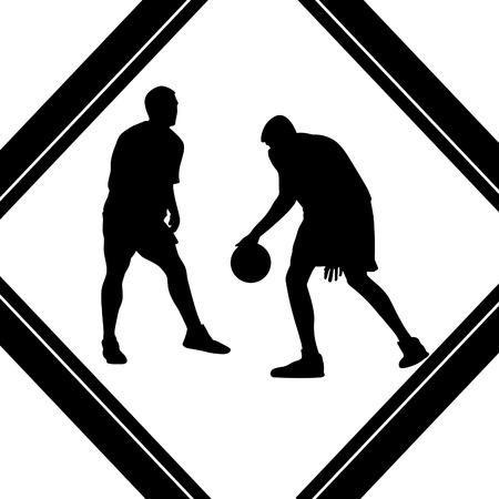 basketball player Stock Vector - 55903109