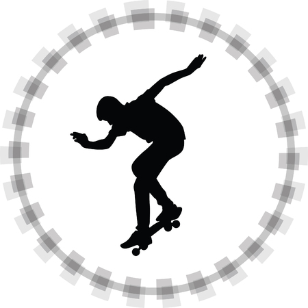skateboarder: skateboarder Illustration