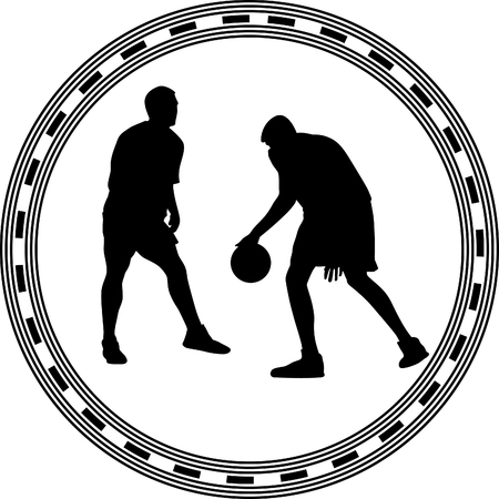 basketball player Stock Vector - 55718601