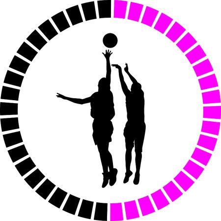 basketball player Stock Vector - 55894287
