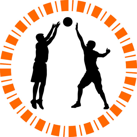 basketball player Stock Vector - 55949825