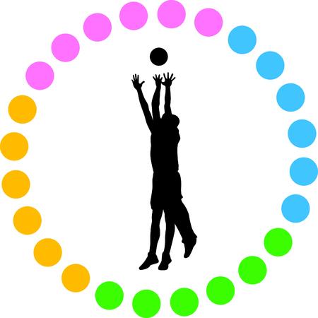 basketball player Stock Vector - 56464625