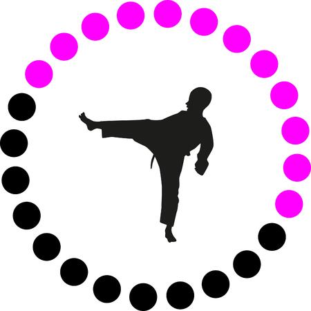 girl fist: taekwondo