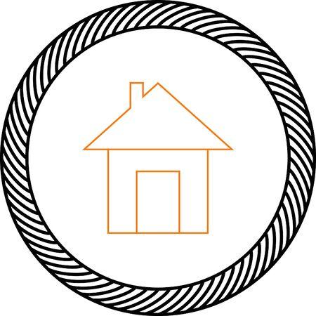 web: house web icon