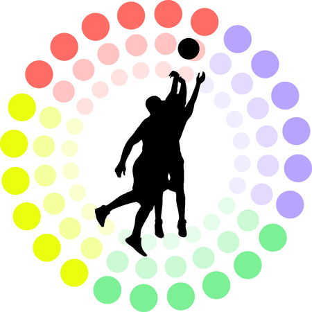 basketball player Stock Vector - 56519128
