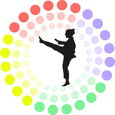 individual sports: taekwondo
