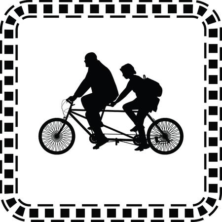two-seater bike