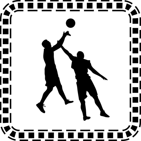 basketball player Stock Vector - 56626922