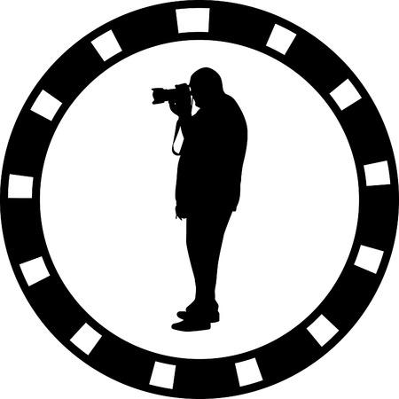 creative shot: photographer